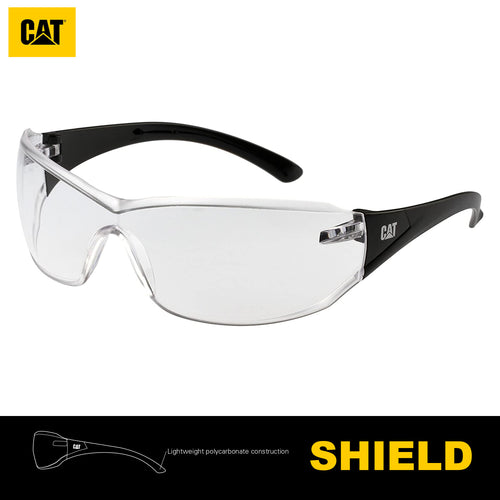 Lentes de Seguridad Cat Shield 100 Protección UV Transparente