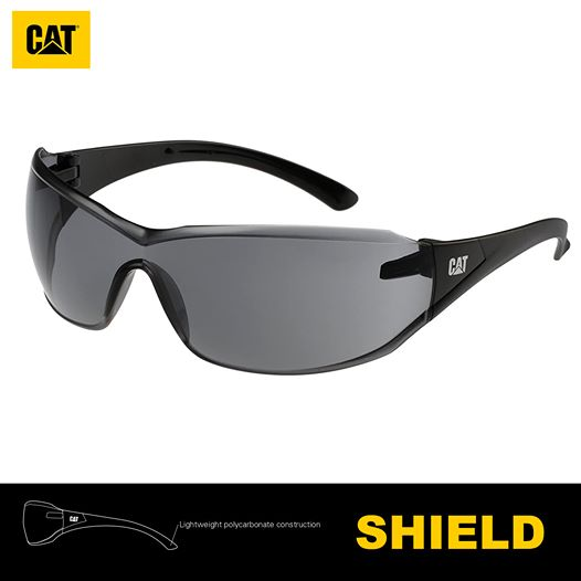 Lentes de Seguridad Cat Shield 104 Protección UV Negro