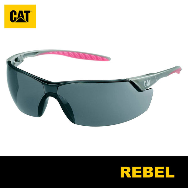 Lentes de Seguridad Cat Rebel 104 Protección UV Negro