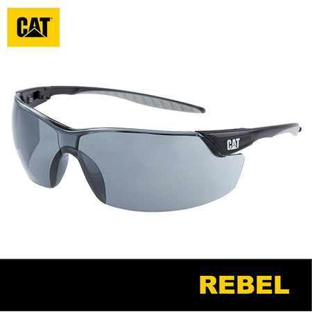 Lentes de Seguridad Cat Rebel 127 Protección UV Negro