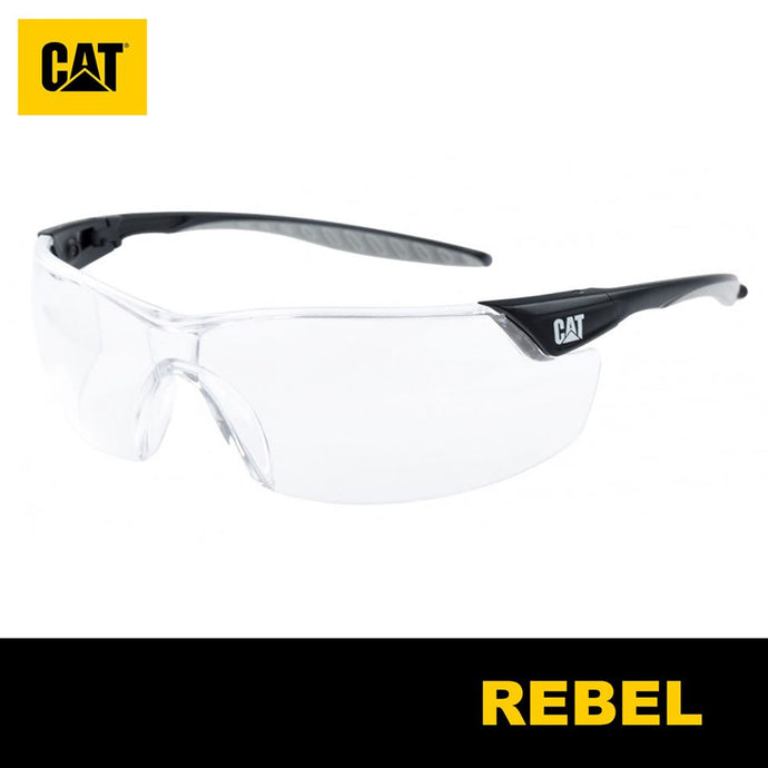 Lentes de Seguridad Cat Rebel 113 Protección UV Transparente