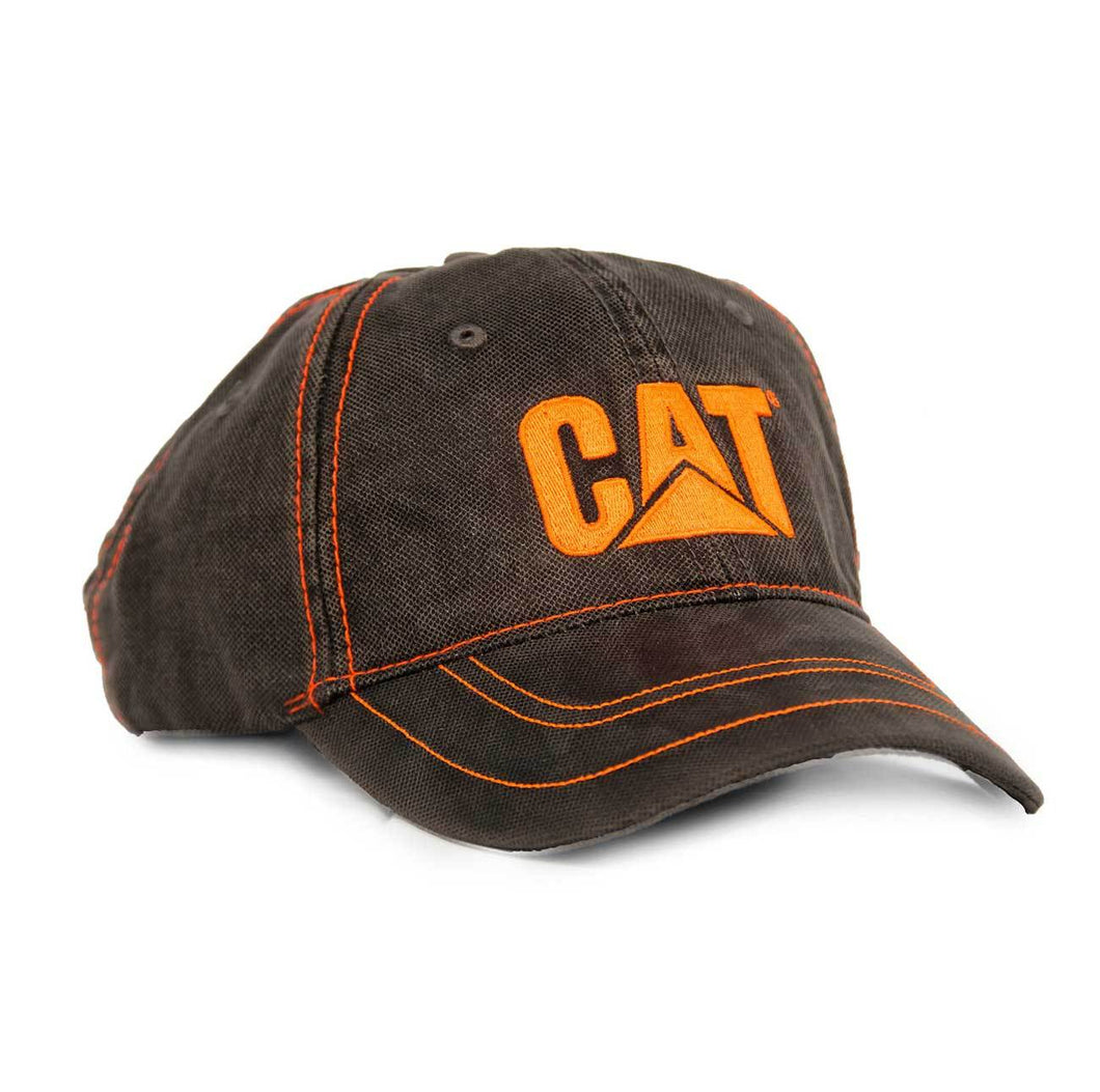 Gorra Cat Textured Charcoal Gorras