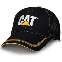 Gorra Cat Black Twill And Mesh Cap Gorras