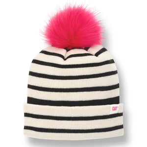Gorra De Tejido Cat Ladies Striped Beanie 4448379