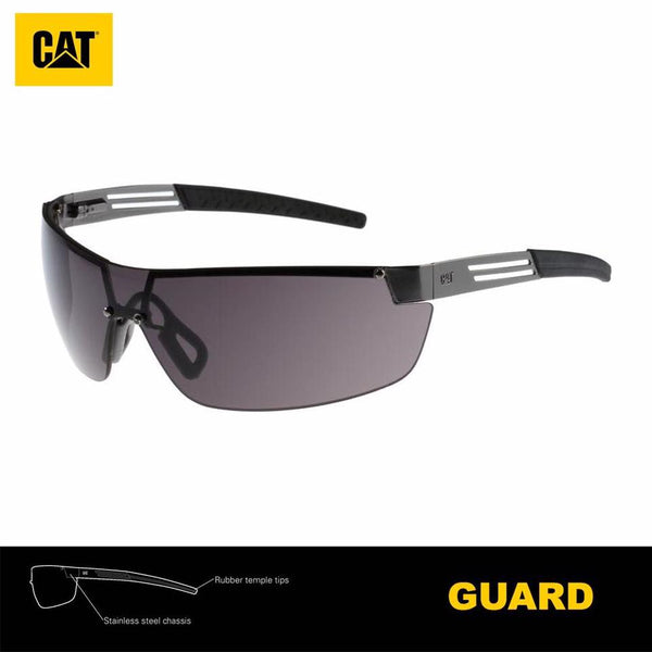 Lentes de Seguridad Cat Guard 104 Protección UV Negro