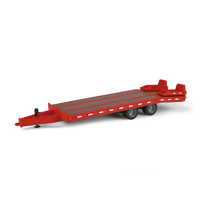 50-3350 Plataforma Beavertail Rojo Escala 1:50