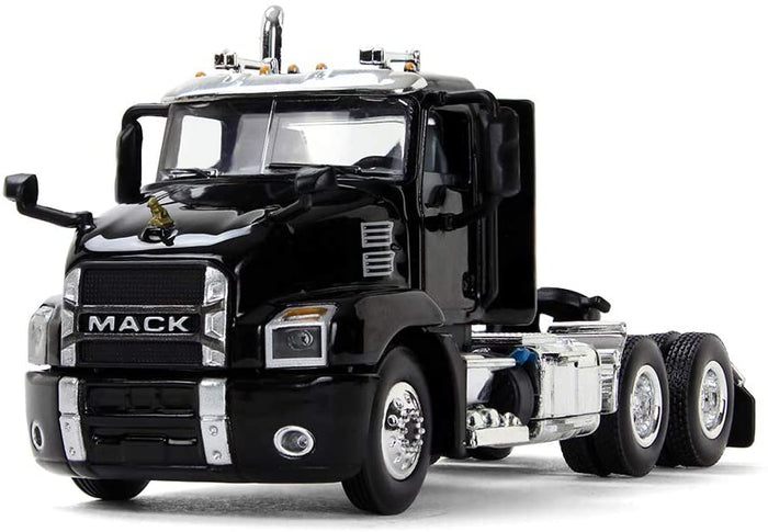 60-0406 Tracto Mack Anthem Day Cab Black Escala 1:64