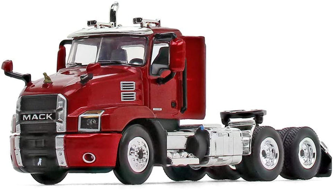 60-0407 Tracto Mack Anthem Day Cab Lacquer Red Escala 1:64