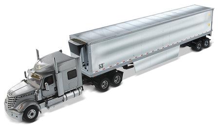 Trailer LoneStar Sleeper Plateado Escala 1:50