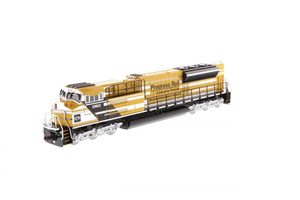85546 Locomotora Sd70Ace-T4 Amarillo Y Negro Escala 1:87