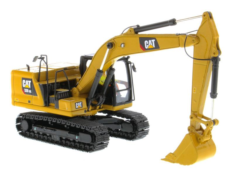 85570 Excavadora Hidráulica Cat 320 Gc Escala 1:50 (High Line)