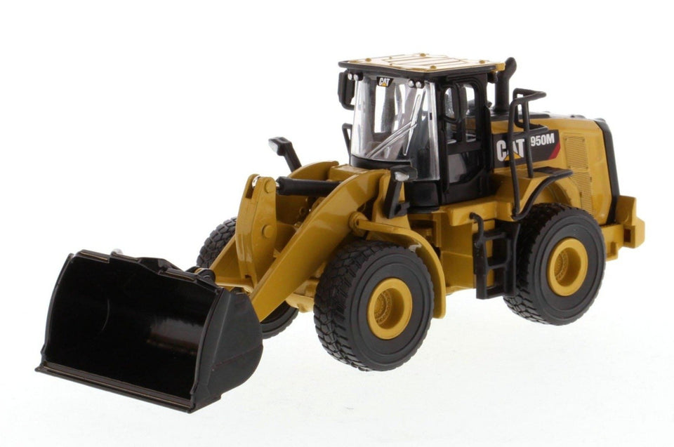 85608 Cargador De Ruedas Cat 950M Escala 1:64 (Play And Collecty) De
