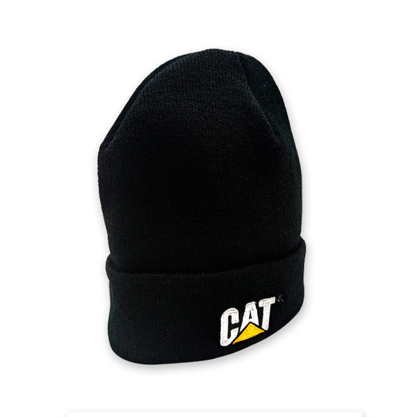 Gorra De Tejido Cat Cuffed Black Knit Cap 4445589