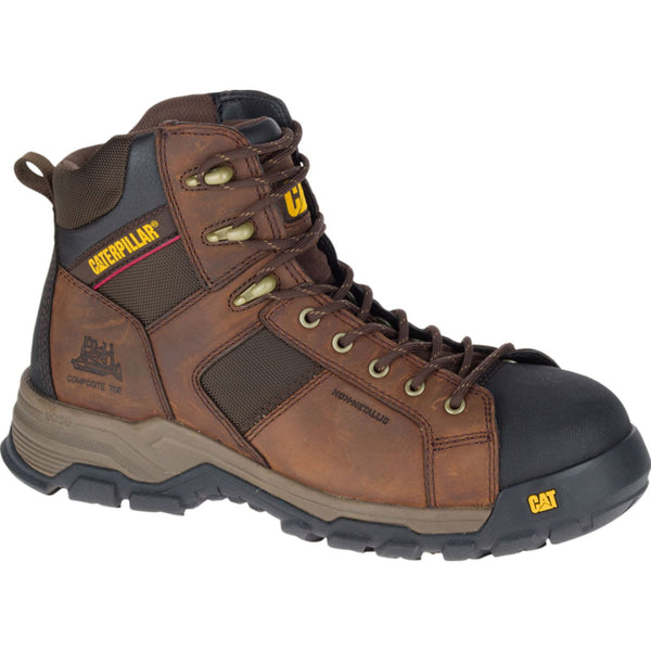 Zapato Industrial Caterpillar Carbonate Nano Toe Dark Brown P90913