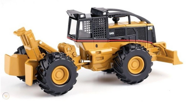 55072 Tractor Forestal Cat 545 Escala 1:50