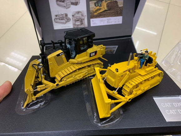 85561 Tractor De Orugas Cat D7C & D7E Escala 1:50 (Evolution Series) De