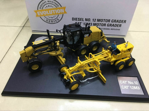 85560 Motoniveladora Cat 12 & 12M3 Escala 1:50 (Evolution Series)