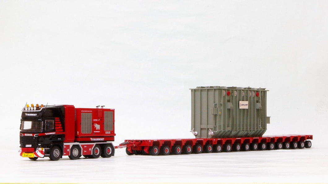 410214 Mammoet Scania R620 with K25 Escala 1:50