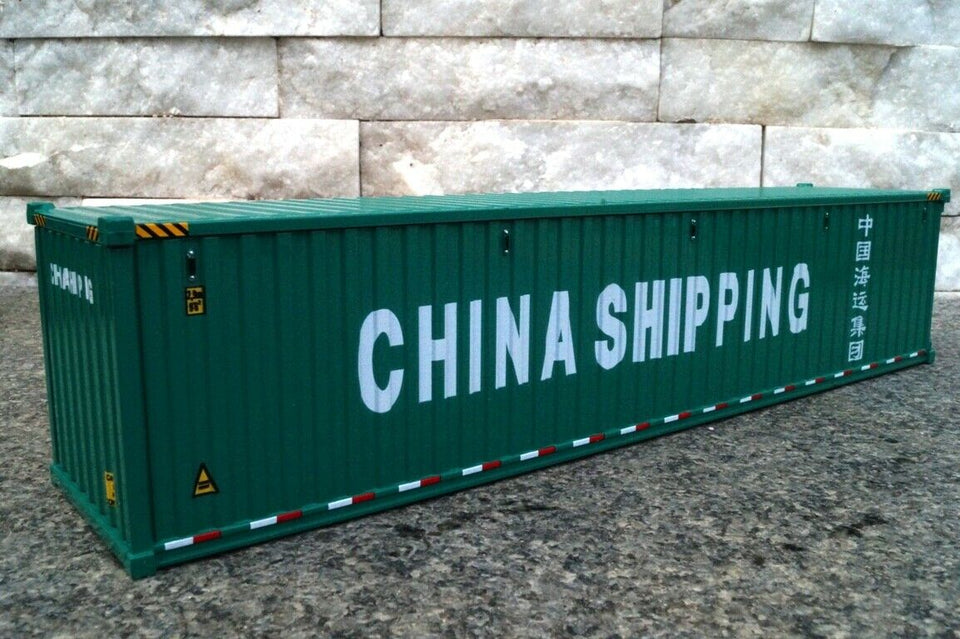 91027C 40' Dry Goods Sea Container Escala 1:50