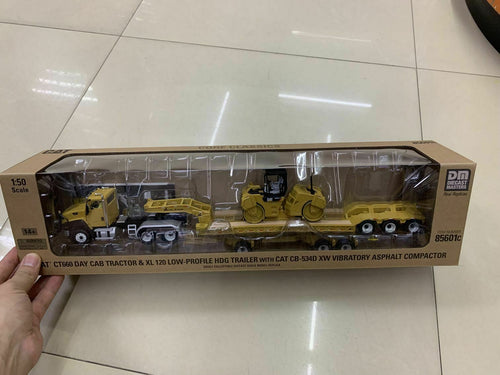 85601C Cama Baja Cat Ct660 & Xl120 Escala 1:50 Trailer Camabaja