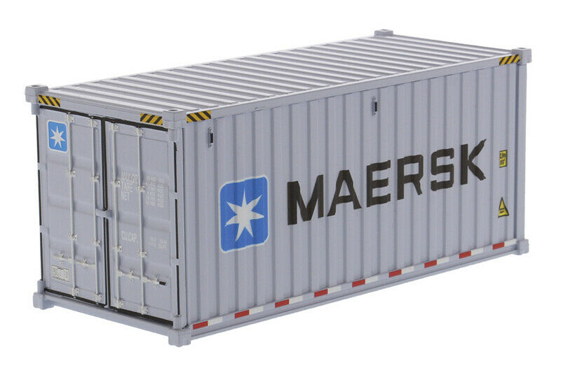 20' Dry Goods Sea Container DM91025E Escala 1:50