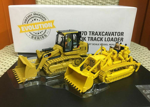 85559 Cargador De Cadenas Cat 977 & 963K Escala 1:50 (Evolution Series) De Ruedas