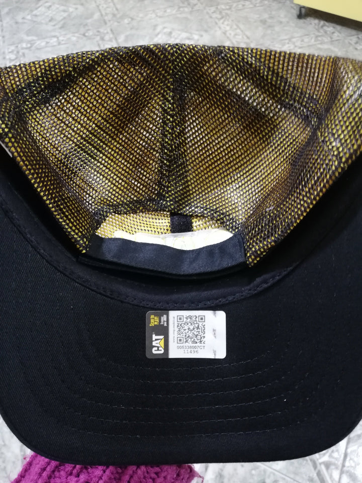 Gorra Cat Black And Gold Cap Gorras