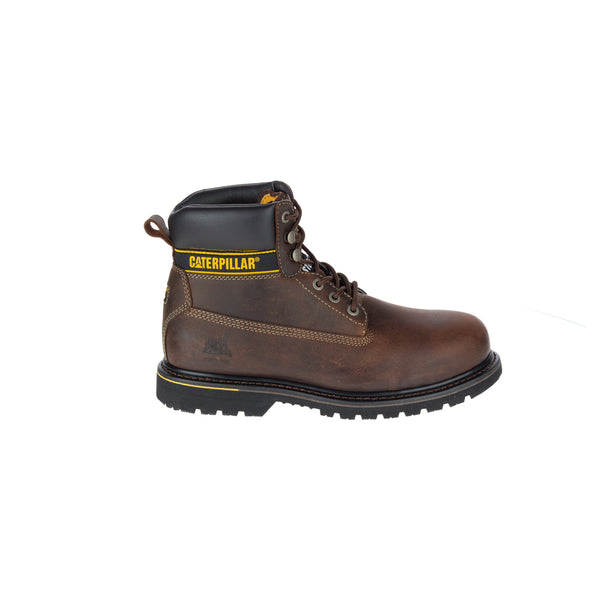 Zapato Industrial Caterpillar Holton ST Dark Brown P718032