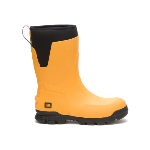 "Zapato Industrial Caterpillar Stormers 11"" ST Yellow P91152"