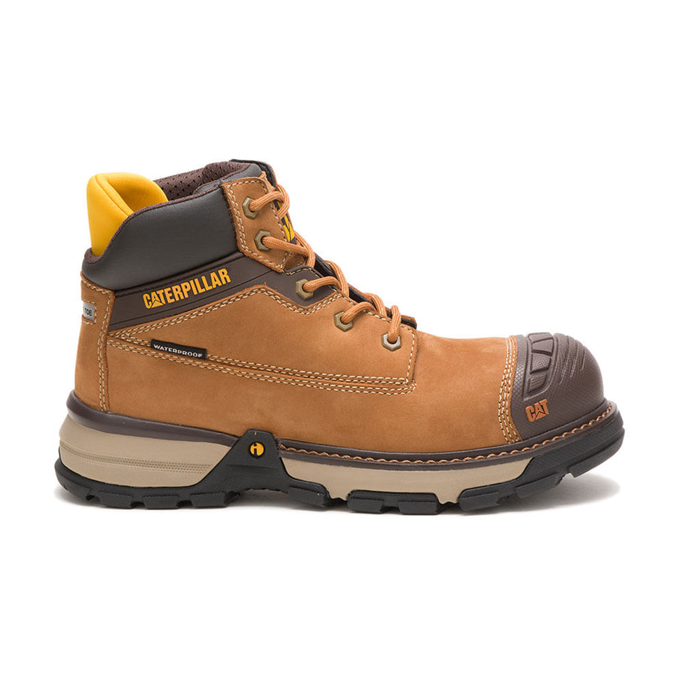 Zapato Industrial Caterpillar Excavator Superlite WP NT Sudan Brown P91199