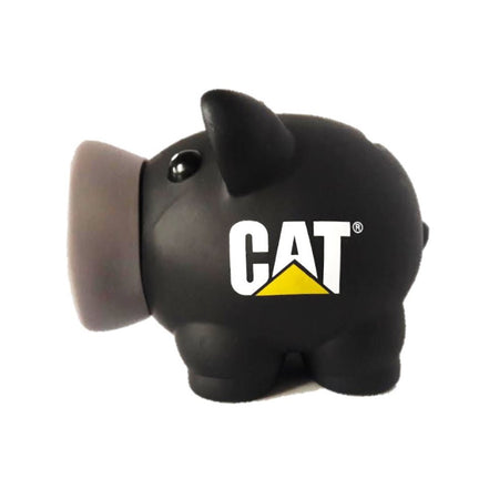Chanchito Alcancia Cat Negro Varios