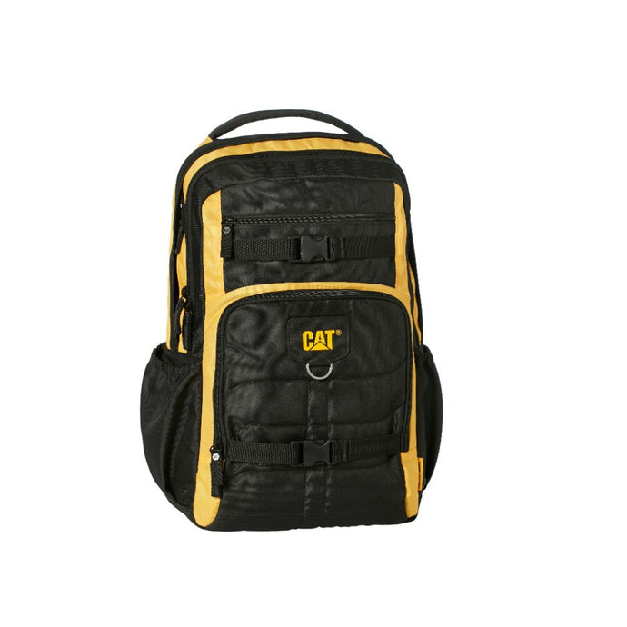 Mochila Cat Millennial Patrick Black/Yellow 83605-12