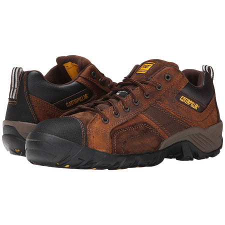 Zapato Industrial Caterpillar Argon CT Dark Brown P89957