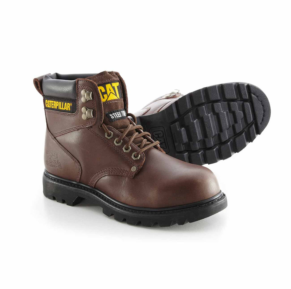 Zapato Industrial Caterpillar Second Shift ST Brown P302171