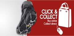 Click and Collect from our office - it's FREE!