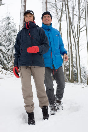 WALK on winter ice and snow with ICEGRIPPER