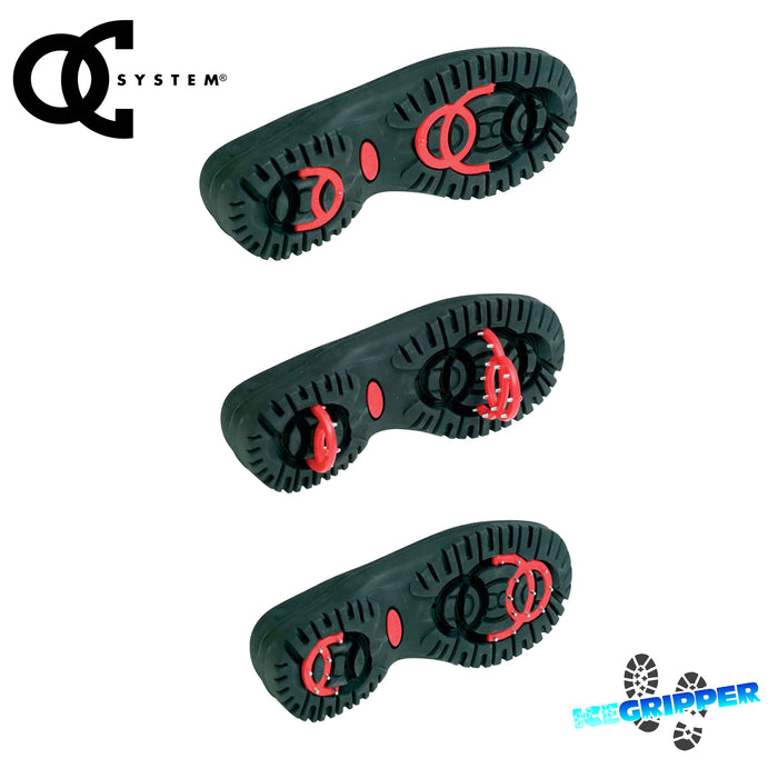 OC antislip system in all OLANG MUSICA TEX soles, from ICEGRIPPER