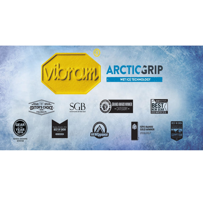 Dolomite Tamaskan 'powered' by Vibram Arctic Grip from ICEGRIPPER