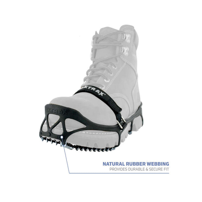 Yaktrax Pro with natural rubber webbing from ICEGRIPPER