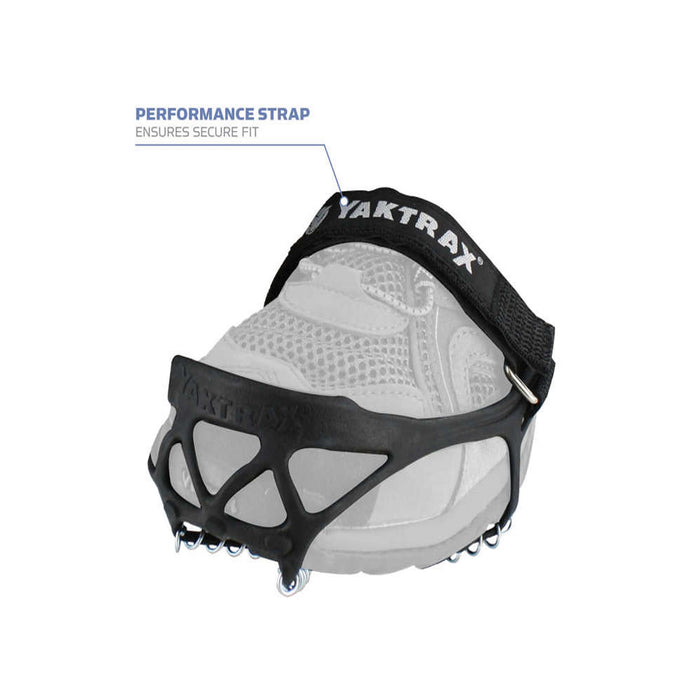 Yaktrax Pro performance strap for deep snow use from ICEGRIPPER