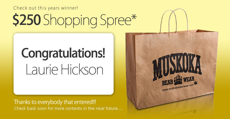 Online Shopping Spree 2008 - Winner