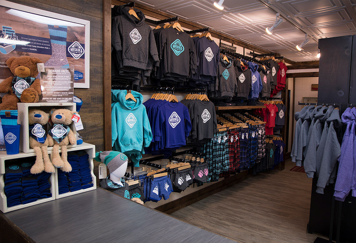 Muskoka Bear Wear - Gravenhurst Location