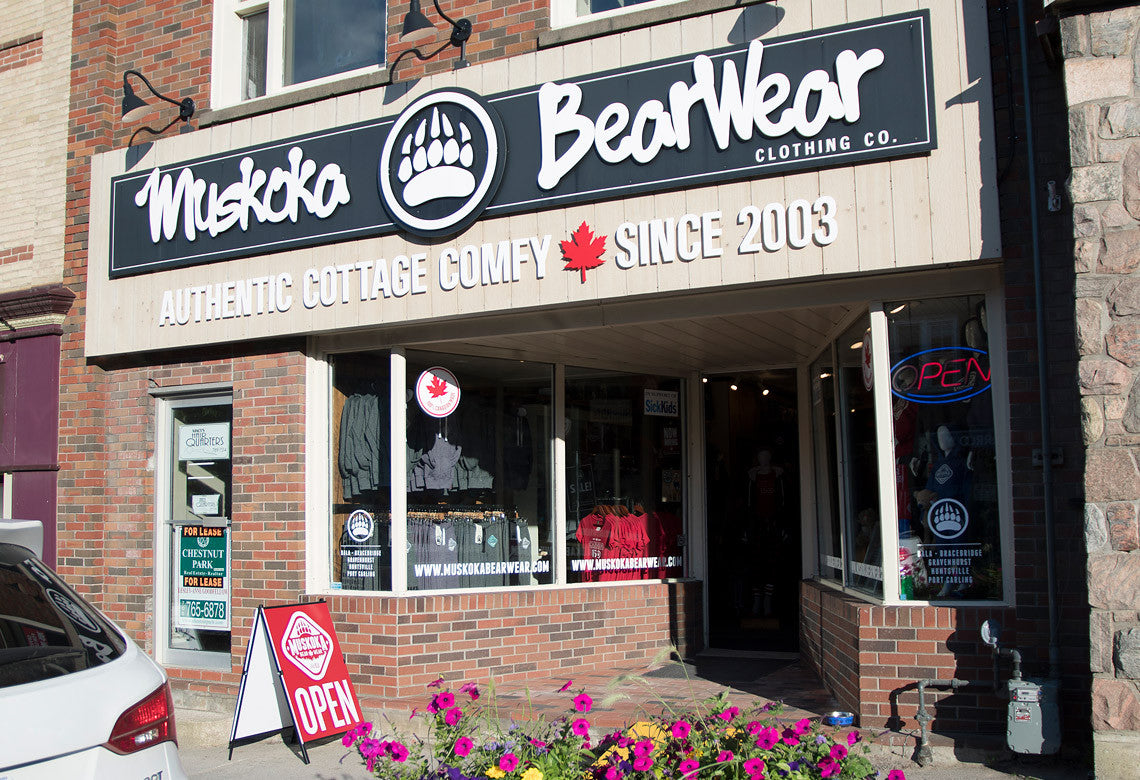 Muskoka Bear Wear - Huntsville Location