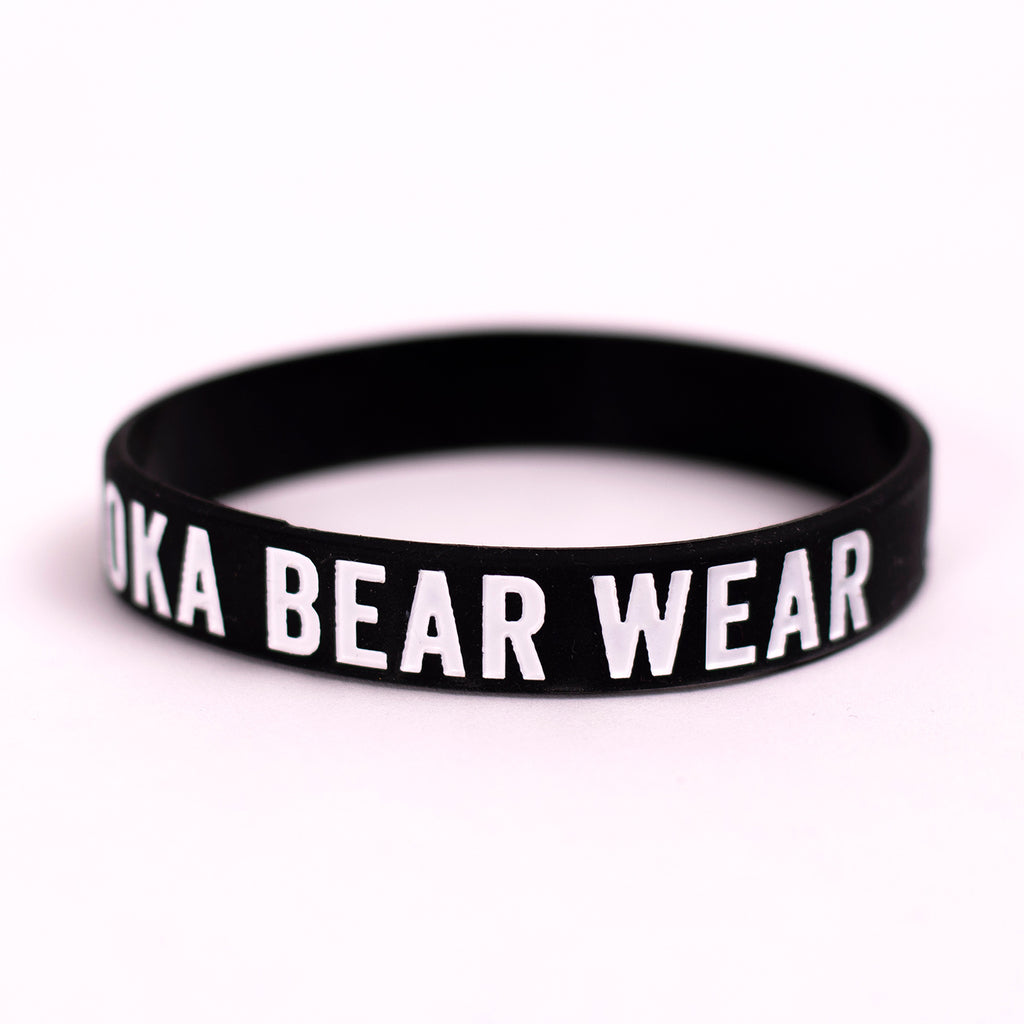 MBW Wristbands in Black