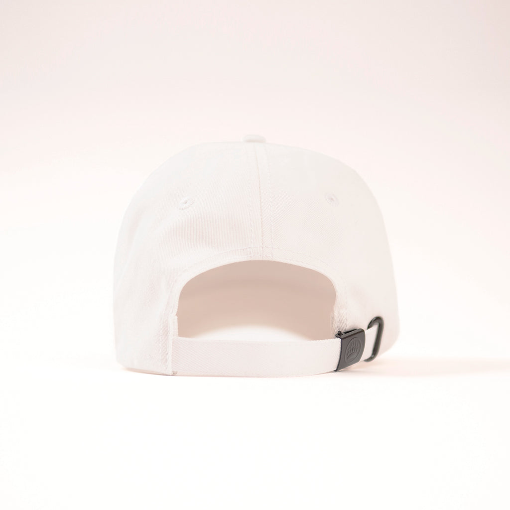 Muskoka Bear Wear - Baseball Cap in White with Pink