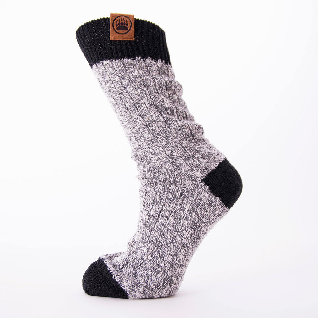 Muskoka Bear Wear – Ladies Socks with Black Band