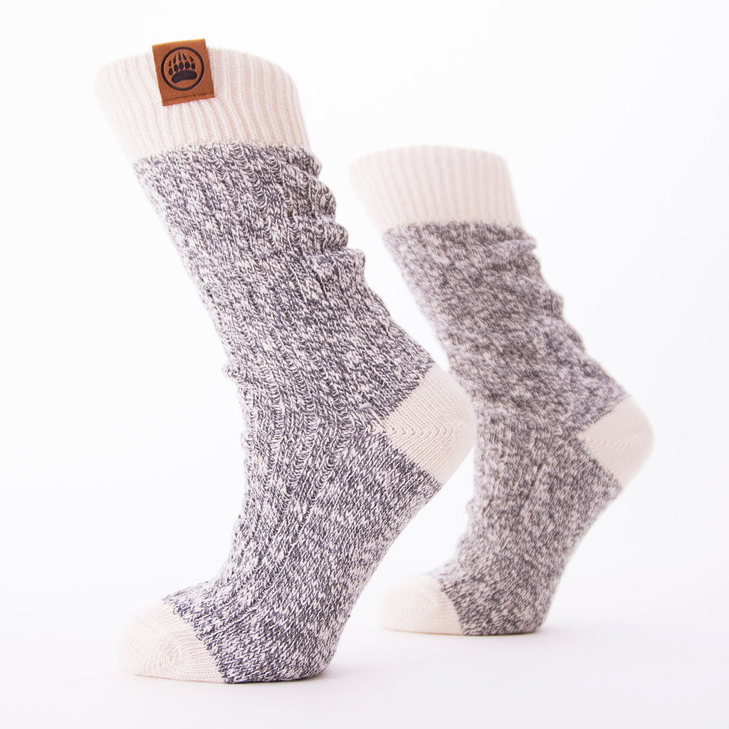 Muskoka Bear Wear – Ladies Socks with Natural Band