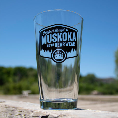 MBW Beer Can Glass