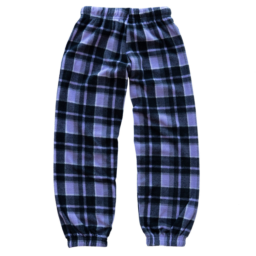Muskoka Bear Wear – Youth Cottage Comfy Pants in Plaid Plaid