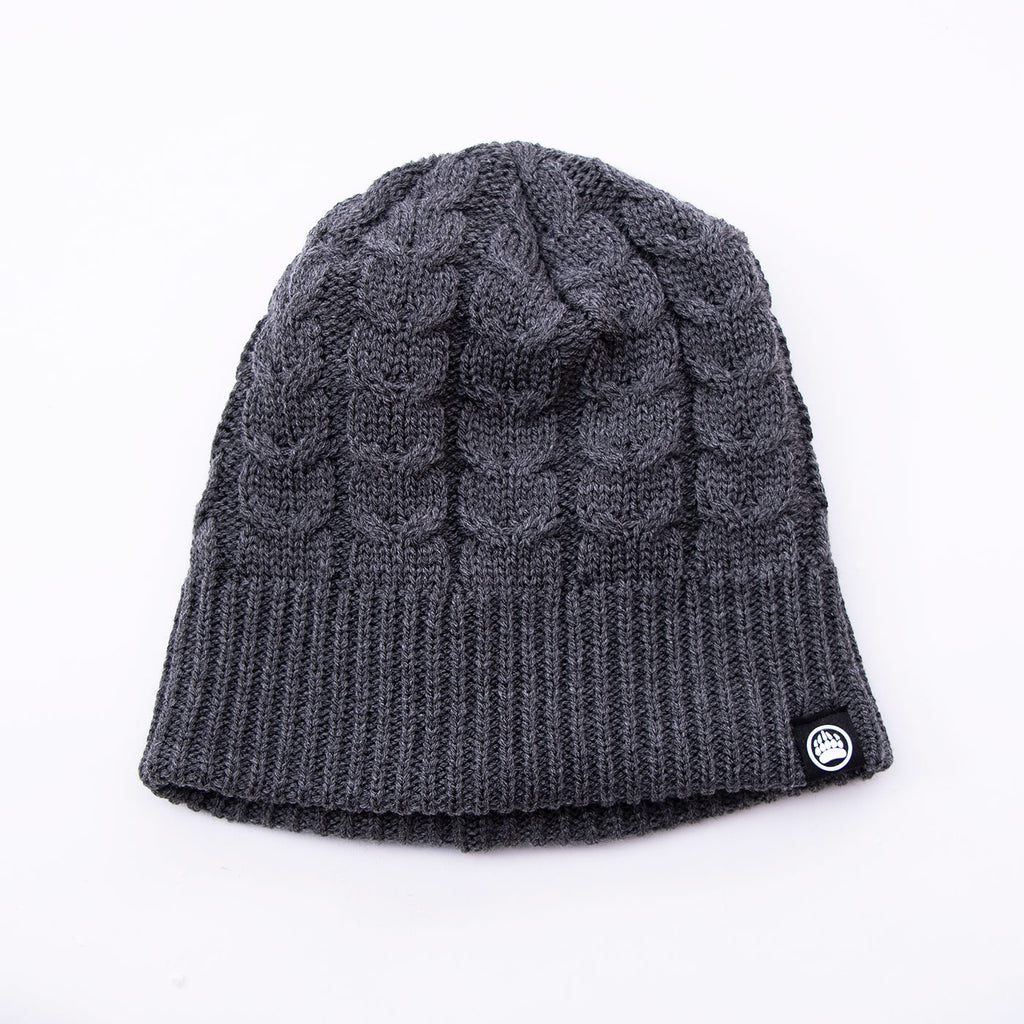Muskoka Bear Wear – Charcoal Knit